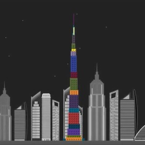 Infographic Video about Skyscrapers