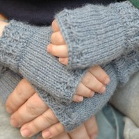 MiniMe Fingerless Mitts