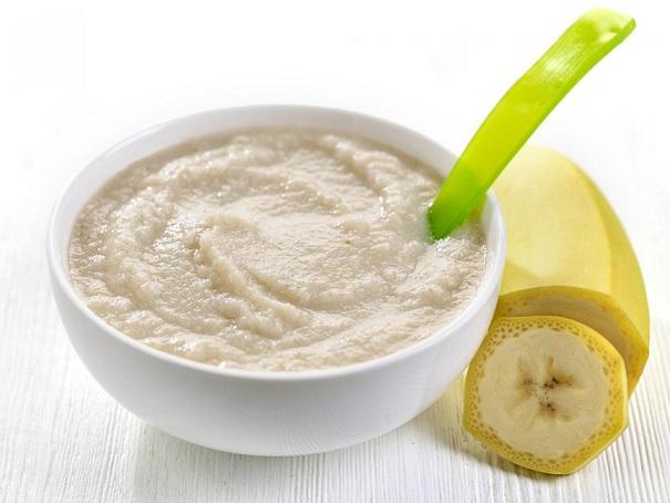 membuat puree pisang
