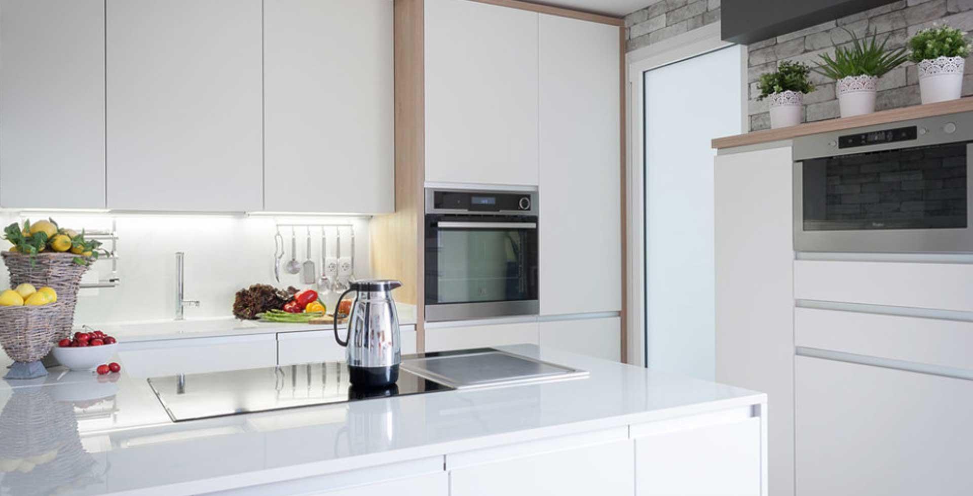 Tipos de encimera de cocina granito o Silestone cul