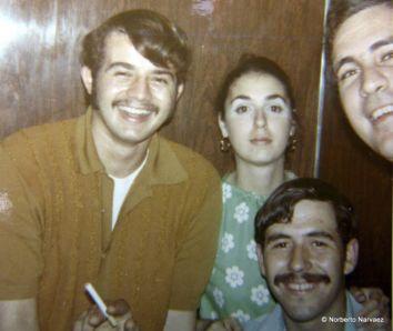 Pedro, Cristina, Grovas, Julio Vidal