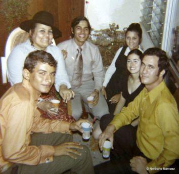 Luis, Margara, Hector, Ketin, Cristina, Julio