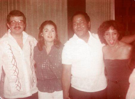 Pedro, Cristina, Saro y Zulma