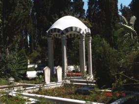 La tombe bénie de Hazrat Suleyman Efendi