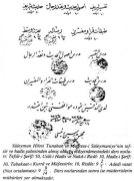 La dernière page d'Ijaza (Diplôme)