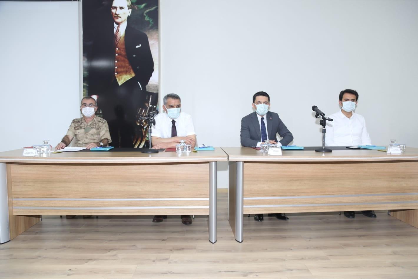 Tunceli'de tasarruf tedbirleri toplantısı gerçekleştirildi