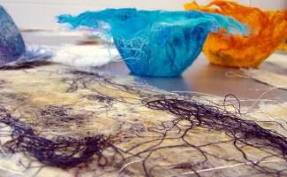 Paper Making Workshop Image - TUNDE TOTH Artist