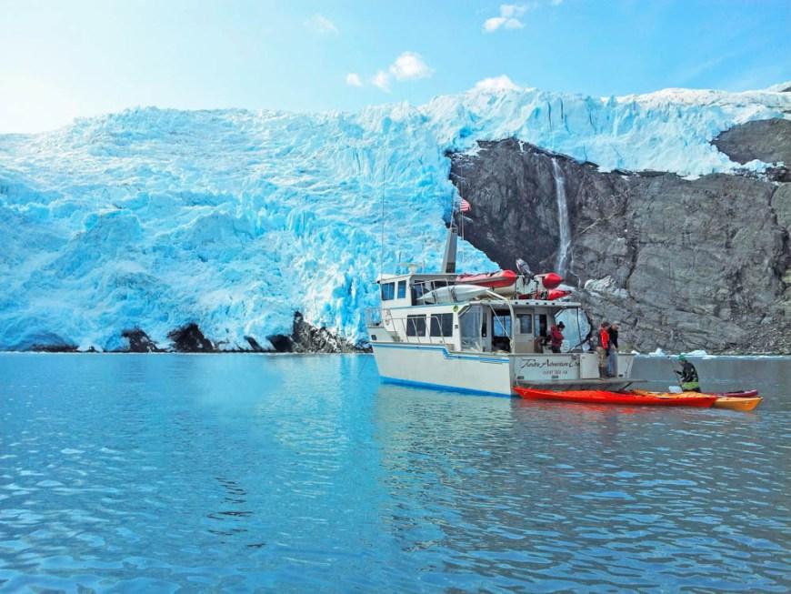 Alaska Glacier Cruise 2014 PB Kayak Boat Blackstone