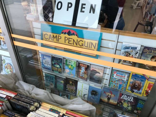 Camp Penguin-Book City St Clair
