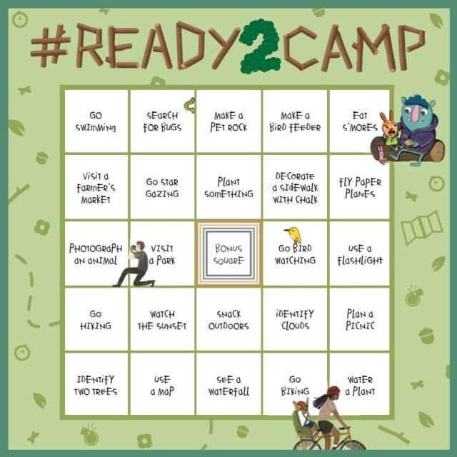 READy2Camp-Bingo Card