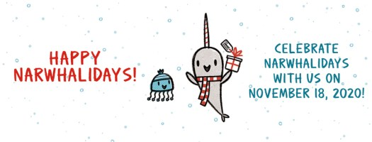 Narwhalidays-Facebook Banner