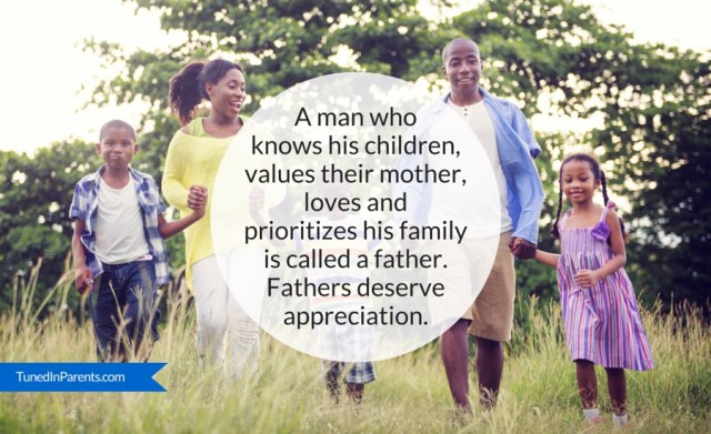 Tuned In Parents - The definition of a father