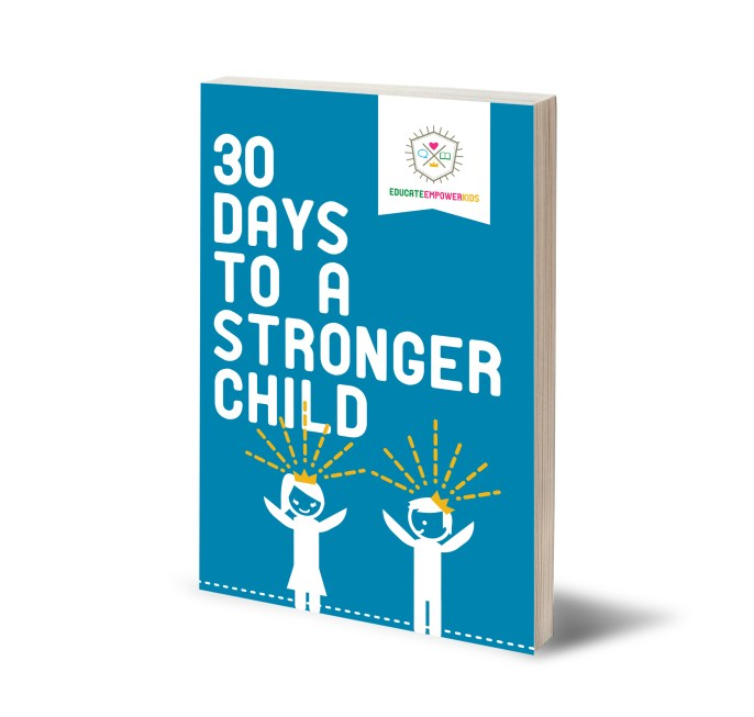 Parenting Book Review: '30 Days to a Stronger Child'