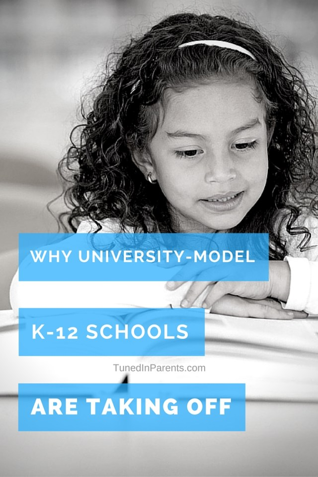 Tuned In Parents - University Model K-12 Schools, education tips
