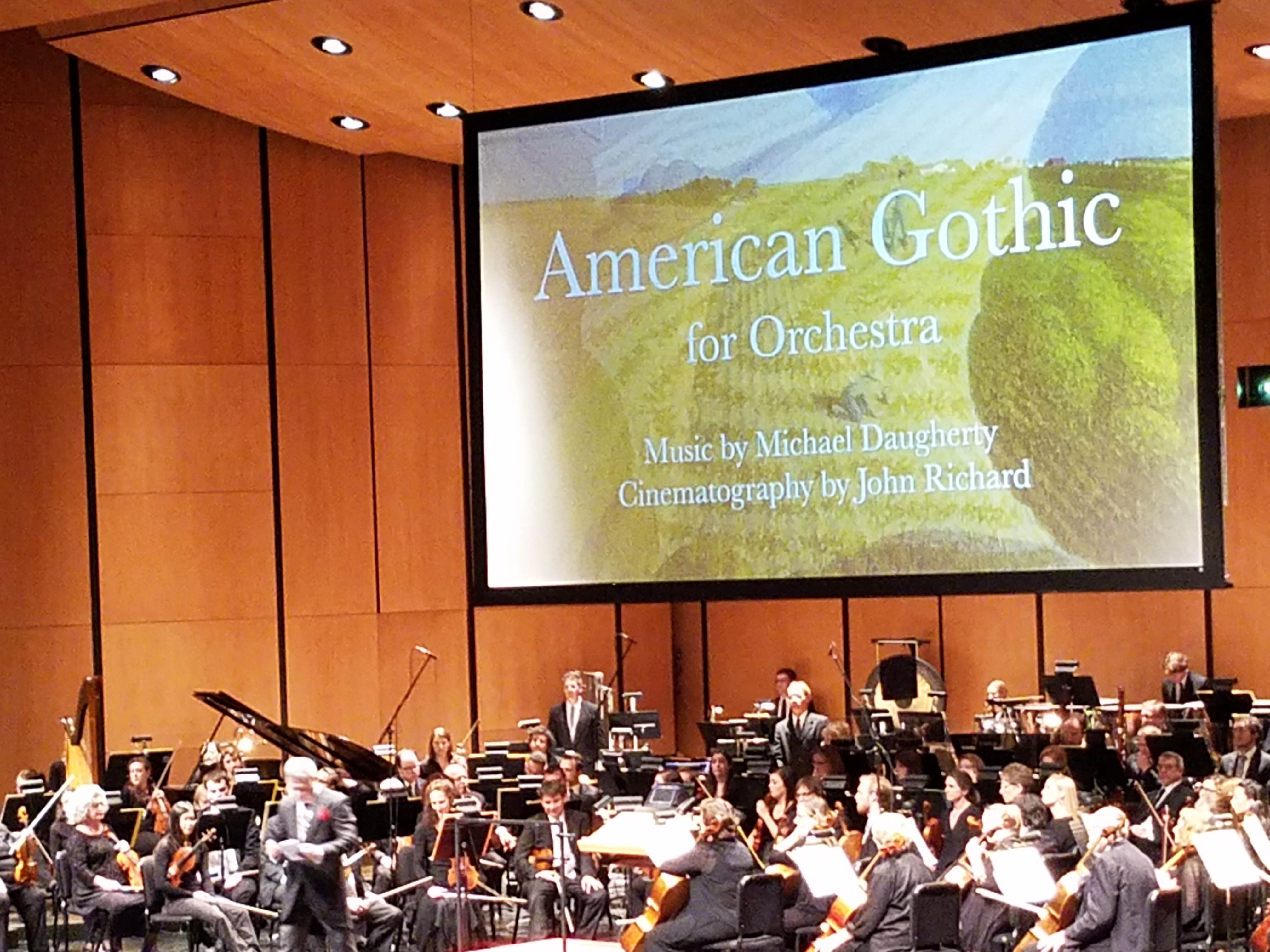 Des Moines Symphony American Gothic and Bolero