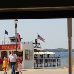 View of pier from Maxwell's