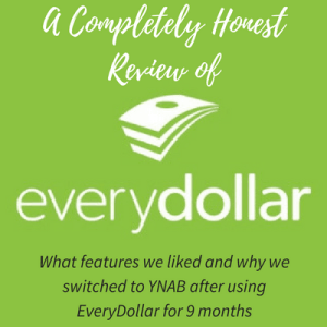 Detailed Review of EveryDollar Online Budgeting Tool