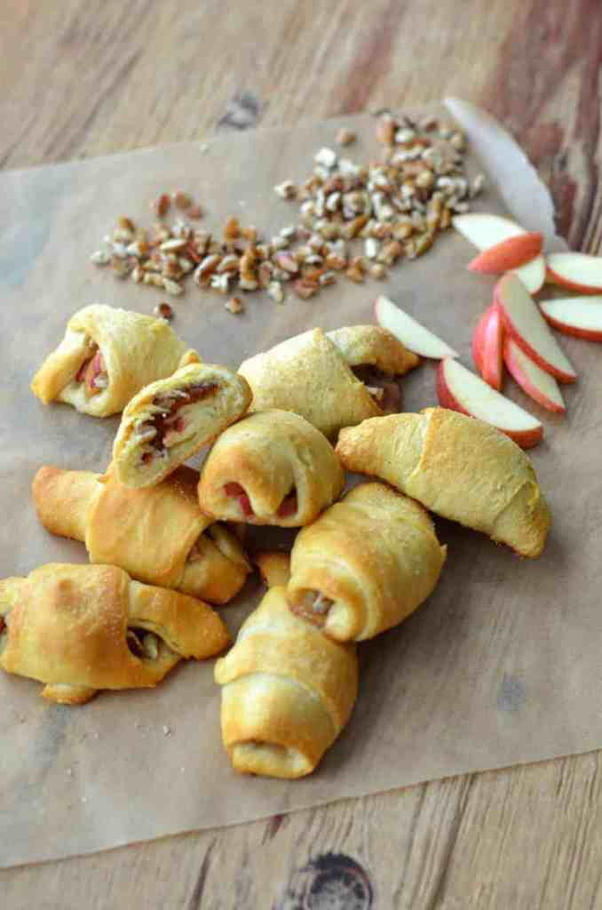 Apple Pie Crescent Rolls 3