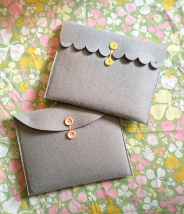 17 handmade gifts you'd actually want: felt ipad case