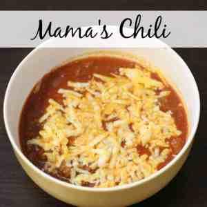 Mama's Chili