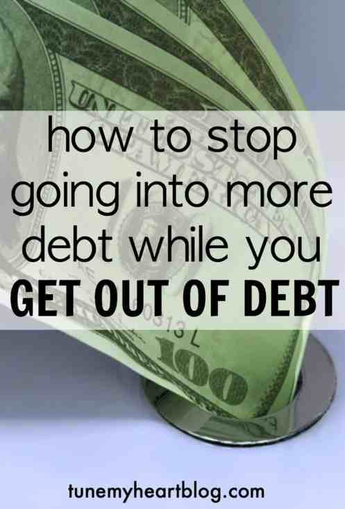 The thing about paying off debt is - life still happens while you're trying to get out of debt. From our experience, here are a few ideas for not going into more debt when life happens while you're paying off debt.