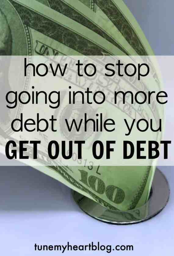 Avoid more debt | debt payoff tips | dave ramsey baby steps | debt snowball | $1000 emergency fund | crisis during debt payoff | how to get out of debt