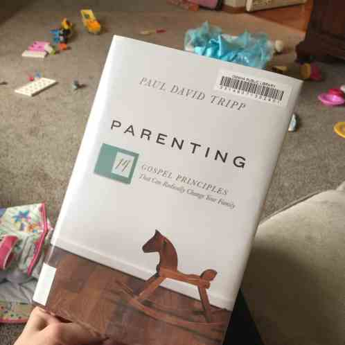 """Paul Tripp's """"Parenting"""" is the best parenting book I've ever read. It will radically affect your entire perspective on parenting - everyone needs to read it!"""