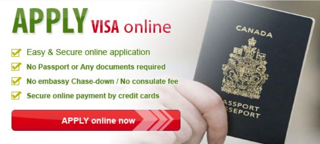 canada visa application online