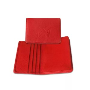 Business Card Holder - red