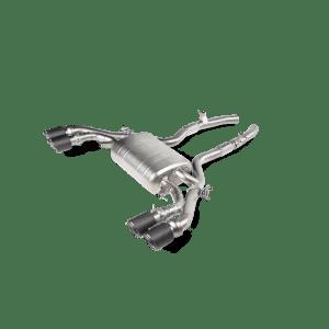 Evacuare Akrapovic Slip-On Line (Titanium) BMW X4 M / X4 M Competition (F98) 2020 - 2020