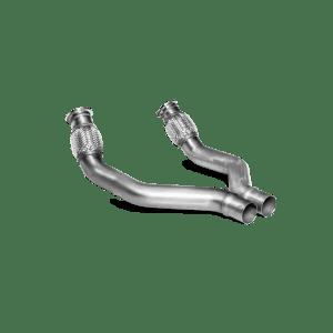 Link pipe set (SS) - for Audi Sport Akrapovic exhaust system Audi S6 Avant/Limousine (C7) 2013 - 2017