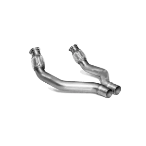 Link pipe set (SS) - for Audi Sport Akrapovic exhaust system Audi S7 Sportback (C7) 2013 - 2017