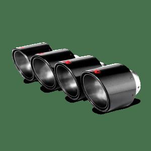 Terminatii evacuare tipsuri Akrapovic set (Carbon