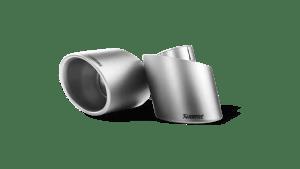 Terminatii evacuare tipsuri Akrapovic set (Titanium) Abarth 595/595C Pista/Competizione 2012 - 2018