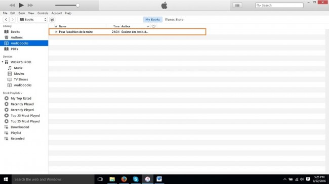How to Put Audiobooks on iPod