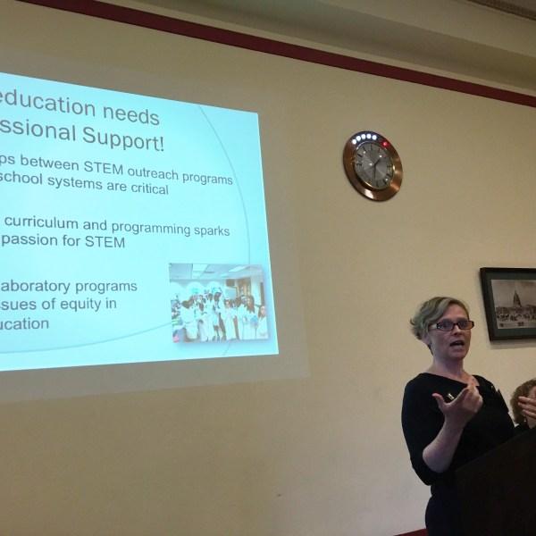 Dr. Stapleton Washington Talk Stem