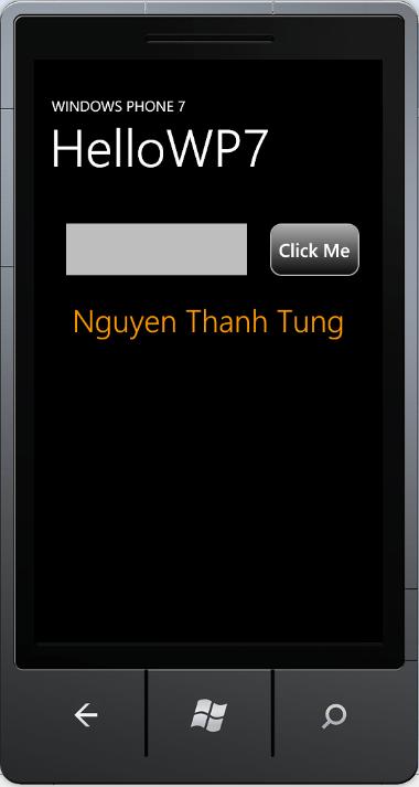 Sử dụng Expression Blend thiết kế giao diện ứng dụng Windows Phone 7
