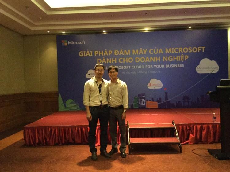 Hội thảo Microsoft Cloud, Azure, Visual Studio 2015