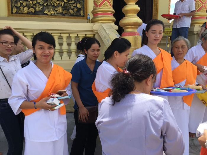 Le xuat gia gieo duyen chua Kleng Hanoi 58
