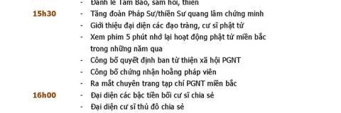 Giao luu Phat tu Xuan Binh Than
