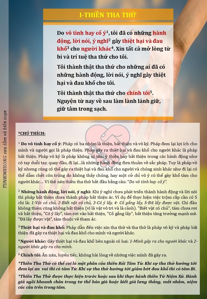 Thiền Tha Thứ 2