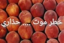 Photo of فلاح يحذر و يكشف عن أسرار صابة الخوخ بامراض قاتلة ..