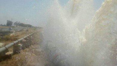 Photo of (في حركة تصعيدية) محتجو جلمة يقدمون على تكسير القنوات الناقلة للماء الصالح للشراب إلى صفاقس