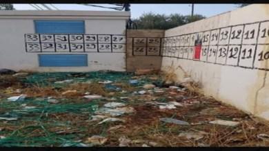 Photo of صورة: قائمات المترشحين للانتخابات الرئاسية وسط الأوساخ ولا أحد يهتم