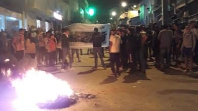 Photo of إحتقان و قطع للطريق في دوار هيشر بسبب نتائج الإنتخابات
