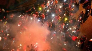 Photo of بحضور راغب علامة: الشعب اللبناني يردد النشيد الوطني التونسي في احتجاجات بيروت