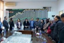 "Photo of عبير موسي في زيارة لمصنع ""سياب"" صفاقس"