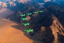 "Photo of ""الصقور السعودية"" تستعرض قدراتها في سماء ""جربة"" التونسية"
