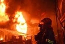 "Photo of اندلاع حريق ضخم بمبنى ب ""جونجوريس"" بالعاصمة"