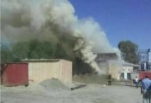 Photo of عاجل : حريق ضخم الان في منطقة أم  العرايس بالمغسلة التابعة لشركة فسفاط قفصة